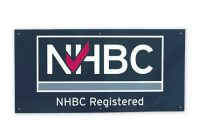 NHBC registered builder site board